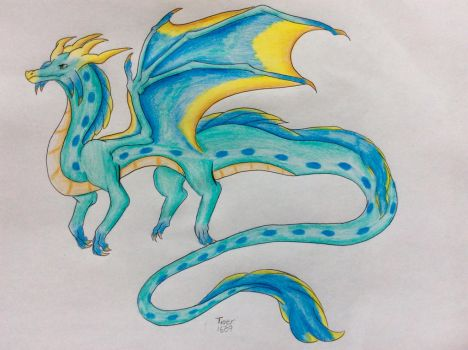 Long tail dragon by Tiger1609