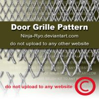 PS6 PATTERNS - DOOR GRILLE by Ninja-Ryo