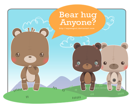 Bear hug anyone? by squeegool