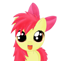 bed mane applebloom by Sharkiity