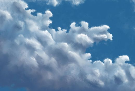 Cloud Study by marvin-x