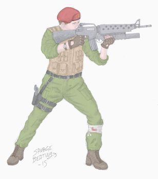 Soldier Clive Jenkins by SavageBeatings