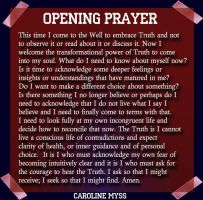 CM Reflection 9-1 Opening Prayer by AmyinWonderlandofOz