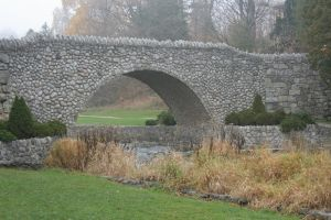 Stone Bridge on a Foggy Day by canuckgurl22-stock