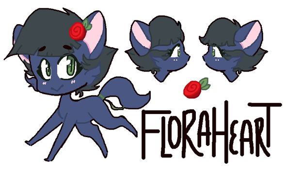 FloraHeart REFERENCE SHEET by GwenCupcakes
