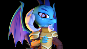 [SFM] Princess Ember the Dragon Lord by Sharpe-Fan