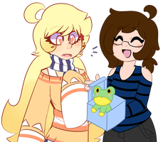 OC Collab - Whats In The Box?! by x-SpookyBoo-x