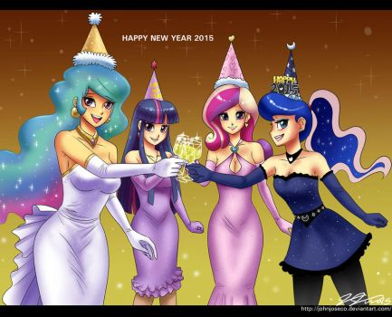 Happy New Year 2015 by johnjoseco