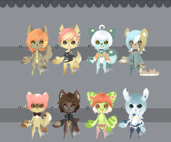 Piejuxi Itty Paw Collab .:Closed:. by Pietastic-Creations