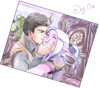 Day 1: A selfie together by SkyDrew