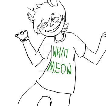 What Meow by XPyro-Undead