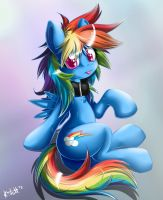 I caught myself a Dash. by KnifeH