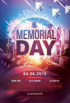 Memorial Day Flyer by styleWish