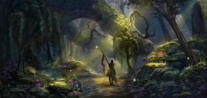 Forest walk by DancingWitch