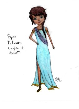 Piper McLean: Roman Style by Blue3Vampire