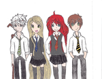 The Big Four Hogwarts ROTBTD (FIXED) by TannaCat
