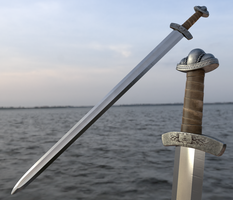 viking broadsword by FredrikH