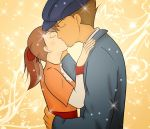 Clive and Flora: A Gentle Kiss by xHeeendlx