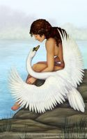 Leda and the Swan by gpalmer