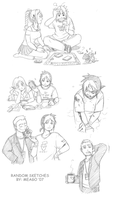 Sketches - the last one by meago