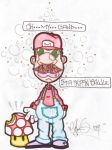 Mario Is Trippin Bawlz by abnormaltoonage