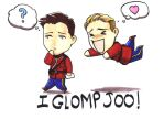 I GLOMP JOO by diefenbaker