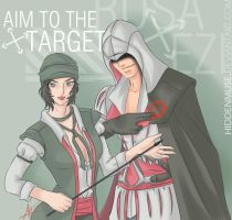 Aim to the target by hiddenmuse