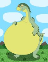 Wild Arms get bigger and fatter by MCsaurus
