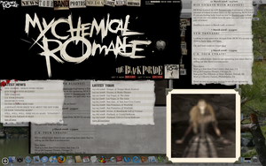 MY CHEMICAL ROMANCE DASHBOARD by kazekage786