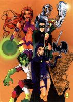 Teen Titans...GO by roxcola