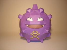 Koffing Papercraft by Skele-kitty