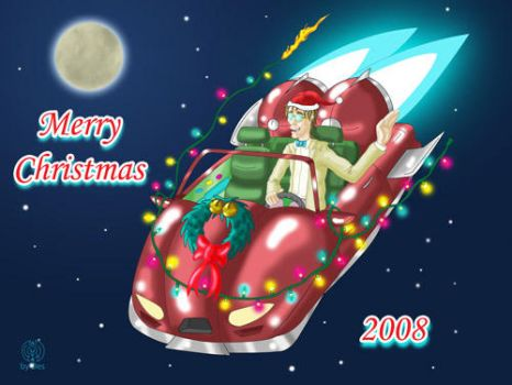 Christmas Card 2008 by DestroyahDes