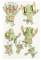 Monster Page by elbooga