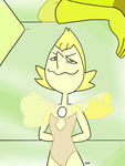 Steven Universe - Yellow Pearl 02 by theEyZmaster