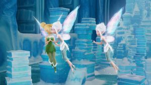 TinkerBell y Periwinkle beso by tailsxamyporsiempre
