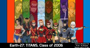 (Earth-27) Teen Titans, Class of 2006 (WIP) by Roysovitch