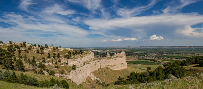 View From Scotts Bluff by artisticimposter