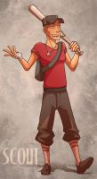 Team Fortress 2 Scout by CauseImDanJones
