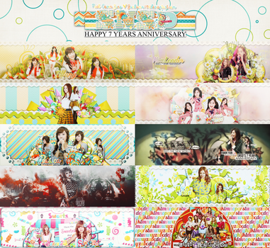 [190714] Pack Cover Zing - GG's 7th Anniversary by Junkuma196