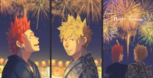 Summer Fireworks by The-Mask-King
