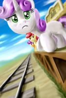 Waiting for the train by nekokevin