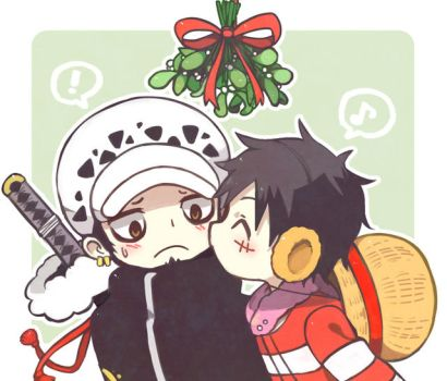 kiss under the mistletoe by yoyterra