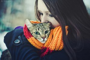 Me and my Cat by Ersaniel