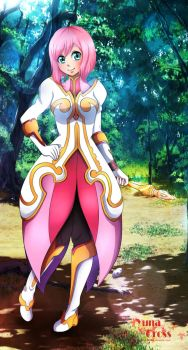 Estelle {Tales of Vesperia-Fanart}~ by Korinichi