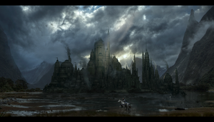 Castle Matte Painting 5 by rich35211