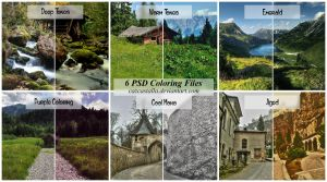 PSD Coloring Set 2 by cazcastalla