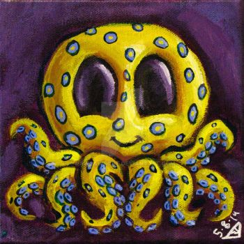 Squeepuss yellow by rawjawbone