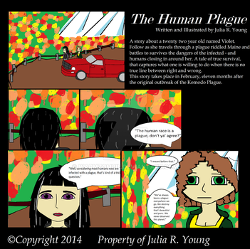 The Human Plague Comic. Issue 1 by WARMZOMBIE