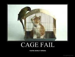 CAGE FAIL by WingedWarrior13
