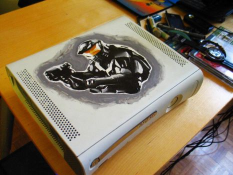 fan made Halo: Anniversary Xbox by EnergizerII